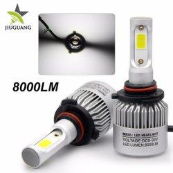 LED Auto Scheinwerfer H11 9005 9006 9007 High Power Drei Farben 12V 24V 8000lm H4 H7 Scheinwerfer für Fahrzeuge