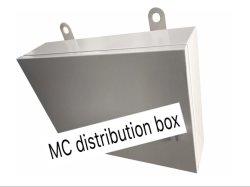Casella di alluminio di distribuzione di energia di allegato dell'interno IP65 con l'alta qualità