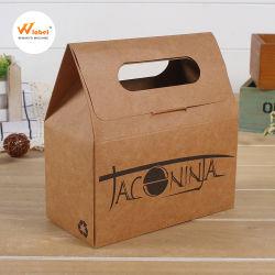 環境に優しい正方形のアートペーパーの使い捨て可能な食糧寿司の包装のギフトの引出しボックス