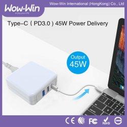 De universele Adapter van de Macht van de Stijl Draagbare 63W type-C Pd voor Laptops