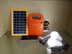 Kit solari 3W di illuminazione di controllo chiaro di vendita della fabbrica per uso domestico