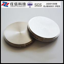 99.995% титана отличается неравномерностью Target высокой чистоты титановых дисков от компании TI