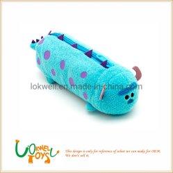 子供の教育おもちゃのランドセルのためのプラシ天の筆箱