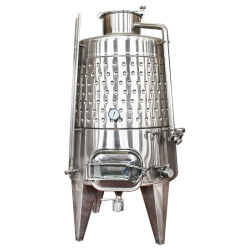 La cerveza de acero inoxidable 500L EQUIPO DE Micro tanques de almacenamiento del vino