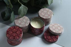 熱い販売の継ぎ目が無い着色された蝋燭の錫