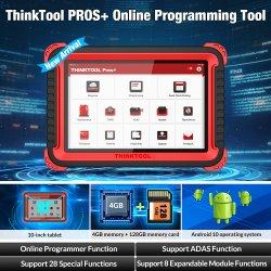 온라인 암호해독기 28 정비 ECU Adas TPMS OBD2 차 진단 검사 공구 Pk Autel Ms908를 프로그램하는 Thinkcar Thinktool Pros+