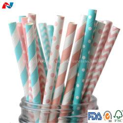 Comercio al por mayor Eco friendly Flexible de Arroz de paja de papel impreso personalizado