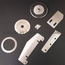 Tous les types de lame Industrielle & couteau pour les emballages en plastique de papier aluminium métal en caoutchouc de l'industrie textile