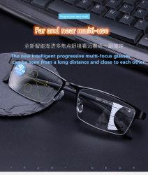 2019 Dernier Multi-Focus Anti-Blu progressive-Ray de lunettes de lecture