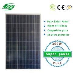 Usine 300W 72 Poly de cellules photovoltaïques panneau de l'énergie solaire PV Sunpower pour système d'alimentation solaire
