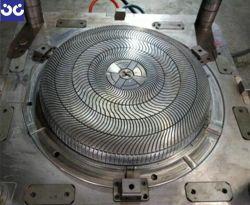 OEMおよびODM Yの扇風機の裏表紙(プラスチック部分)型