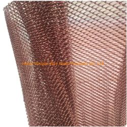 Maillon de chaîne de rideaux de maillage en aluminium et des rideaux de diviseur de la salle
