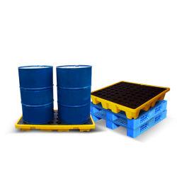 El uso de la industria textil Heavy Duty Contenedor de plástico y palets de plástico