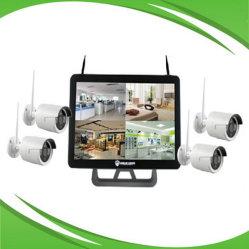 """20.5 """" LCD Monitor Combo met 4CH 720p de Uitrusting van WiFi NVR"""