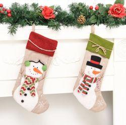 Commerce de gros personnalisé de divers types de décorations pour arbres de Noël chiffon Ornements Art