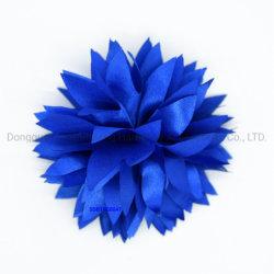 Double but but double fleur de Satin Hair Clip Brooch/