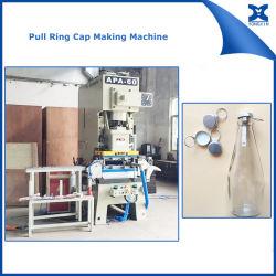 غطاء حلقة السحب المعدني لصناعة خط إنتاج الماكينة