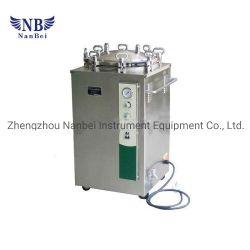 75L стороны раунда автоматический Вертикальный паровой стерилизатор для давления