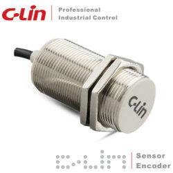 Lja30-10d2 DC 2-Type de fil métallique entièrement filetée M30 du capteur de proximité inductifs cylindriques