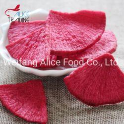 La Chine a fait de légumes frits fournisseur Vf puces de Radis rouge