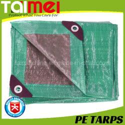 Prateado/Tarps PE Verde com tratamento UV