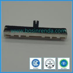 Potenziometer-Stoß schieben der Griff-Potenziometer-Kohlenstoff-Element-Microminiature Typ gedruckte Schaltkarte