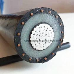 Urd isolation XLPE 5-46kv fil de cuivre Mv Câble d'alimentation souterraine
