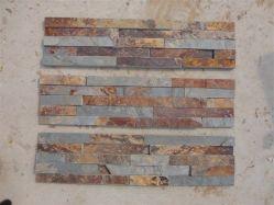 Ferrugento Cultura pedra ardósia 15x60cm