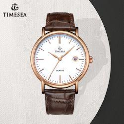 Het klassieke Horloge van het Leer met Polshorloge 71253 van de Dames van Movt van het Kwarts