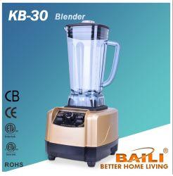 Liquidificadora profissional de alto desempenho de 2 L, Processador de alimentos