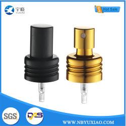20/410の金のアルミニウムプラスチック製品の香水または精油またはガラスビン(YX-6-1)のための安全ばね20/410のよく良い霧のスプレーヤーポンプ