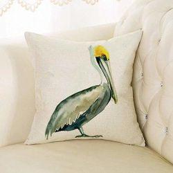Мода джунгли с высоты птичьего полета подушка крышки для дома квадратные подушки сиденья