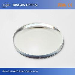 1,56 protección UV400 Receta anti reflectante Cr39 1.56 UV400 de la lente óptica