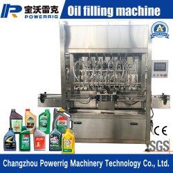 Haut du piston d'huile lubrifiante Stable Machine de remplissage avec la CE a approuvé