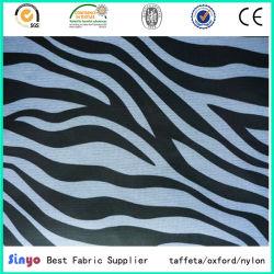 Ouvir a transferência digital impressos Zebra leopardo de Design Personalizado para sacos de tecido