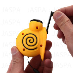 新しい方法ABS白いLEDかたつむりの形のダイナモの懐中電燈