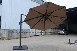 캐노피 회전 기능이 있는 작은 로마식 우산 야외 우산 파라솔비치 우산