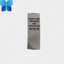 Drucken-Kennsatz-Baumwollband für Bekleidungszubehör