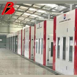 Высокая эффективность автоматической линии краски листового металла для 4s магазин