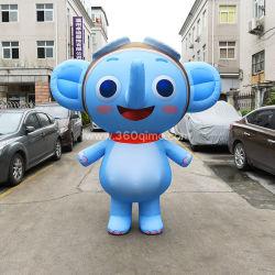 Meilleur design gonflable Costume de l'éléphant, gonflable Cartoon Costume, mascotte gonflable costume pour la vente