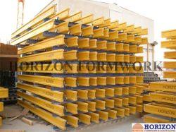 H20 de faisceau dans le mur et les systèmes de coffrage de dalle