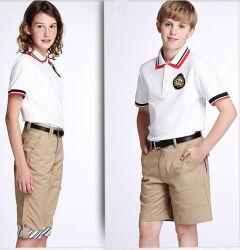 Vestiti su ordine dell'uniforme scolastico più poco costosi di buona qualità della fabbrica della Cina
