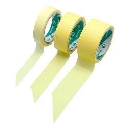 접착 테이프 카용 화이트 컬러 크레페 종이 마스킹 테이프 인쇄 중