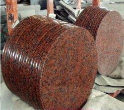 (G562) Maple Bacia de granito vermelho bancadas de granito
