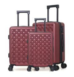 Настраиваемые окрашивания мешок для багажного отделения устанавливает поездки багажного отделения 20дюйма 24дюйма поездки чемодан мешок для багажного отделения Принять логотип Trolley Bag поездки багаж