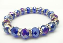 Bracelete de vidro Pearl jóias bracelete jóias feitas à mão presente de promoção