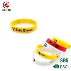 Geleia de Silicone Borracha barato personalizado pulseiras pulseiras de bandas de mão