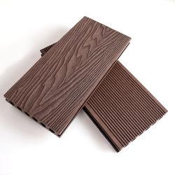 Decking esterno più di meno di sbiadisc di legno della decorazione della pavimentazione del terrazzo WPC di struttura
