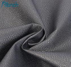 Venta directa de fábrica de cuero artificial de PVC imitación de cuero de grano medio ambiente de la cruz de cuero Guantera inferior de la zapata de la bolsa de tela de Material de la correa de cuero