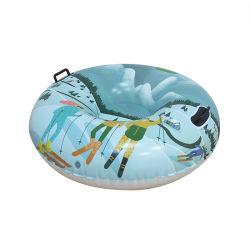 ヘビーデューティ PVC 膨張式スノーチューブ耐久性スレッドスノートイ 冬の屋外そりスポーツの楽しみ冬の楽しみの雪管